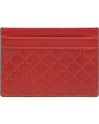 Gucci Microssima Leather Money Clip - Lyst
