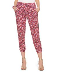 Juicy Couture | Marina Floral Harem Pant | Lyst