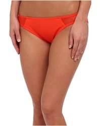 DKNY Solids W Mesh Splice Bottom - Lyst