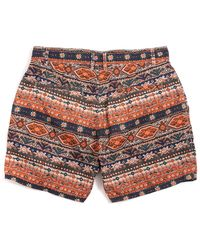 Obey Barbados Street Trunks - Lyst