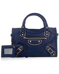 Balenciaga Classic Mini City Edge-Line Cross-Body Bag - Lyst