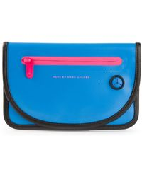 Marc By Marc Jacobs Flap Clutch - Lyst