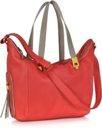 See By Chloé Andrea Coral Grained Leather Handbag - Lyst