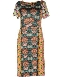 Antik Batik Multicolor Kneelength Dress - Lyst