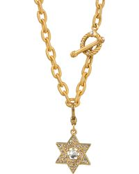Jay Strongwater Star Of David Charm - Lyst