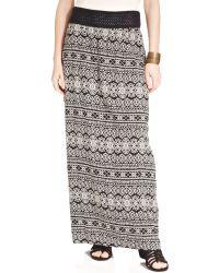 American Rag - Tribalprint Maxi Skirt - Lyst