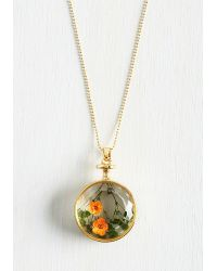 Zad Fashion Inc. - Prized Perennials Necklace - Lyst