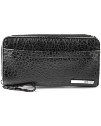 Kenneth Cole Reaction Its A Wrap Zip Around - Lyst