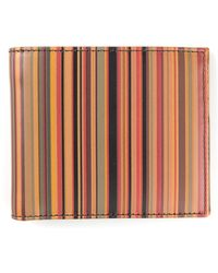 Paul Smith Signature Stripe Billfold Wallet - Lyst
