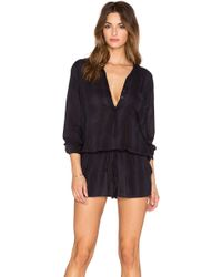 Indah | Plateau Printed Utility Romper | Lyst