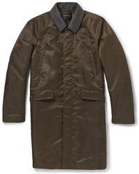 Undercover Felt-collar Raincoat - Lyst