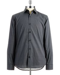 Michael Kors Patterned Sport Shirt - Lyst