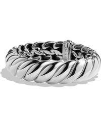 David Yurman Hampton Cable Bracelet, 14Mm silver - Lyst