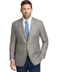 Brooks Brothers Own Make Green Check Matka 101 Sport Coat - Lyst