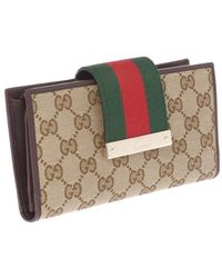 Gucci B Continental Purse - Lyst