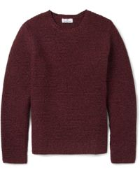 Hentsch Man Ribbed Wool-Blend Sweater - Lyst