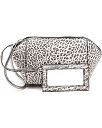 Alexander Wang - Chastity Small Clutch - Black And White - Lyst