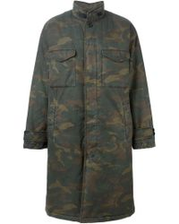 Yeezy - Adidas Originals By Kanye West Camo Parka - Lyst