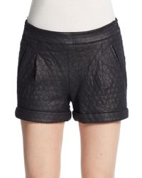 Catherine Catherine Malandrino Edie Jacquard Knit Shorts - Lyst