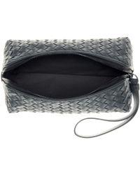 Bottega Veneta Intrecciato Leather Pouch - Lyst