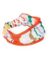 Missoni Mare Lurex Zig Zag Headband - Lyst