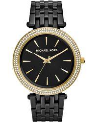 Michael Kors Darci Watch - Midnight Gold - Lyst