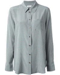 Equipment Houndstooth Pattern Shirt - Lyst