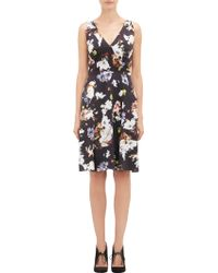 Erdem Floral Wallpaper Elizabeth Dress - Lyst