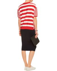 Sonia by Sonia Rykiel - Striped Cotton-blend Cardigan - Lyst