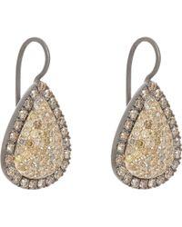 Roberto Marroni - Yellow Diamond, Brown Diamond & Oxidized Gold - Lyst