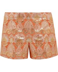 J.Crew Collection Brocade Shorts - Lyst