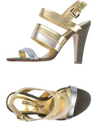 Enrico Lugani Sandals - Lyst