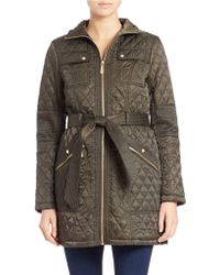 Vince Camuto - Quilted Walker Jacket - Lyst
