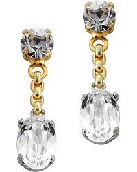 Mews London - Chain Earrings - Lyst