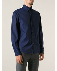 Michael Bastian Classic Butttoned Collar Shirt - Lyst