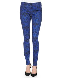 Hudson Nico Pythonprint Super Skinny Jeans Constrictor 24 - Lyst