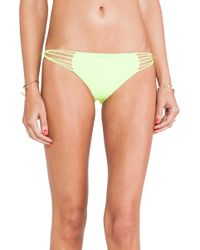 Mikoh Swimwear Lanai Multi String Loop Side Bottom - Lyst