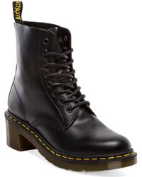Dr. Martens Clemency 8-Tie Boot black - Lyst