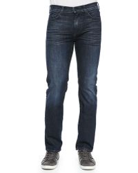 7 For All Mankind Luxe Performance Slimmy Celestial Jeans - Lyst