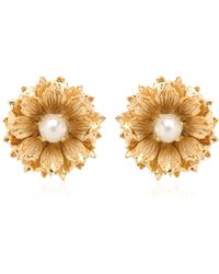 Mercantia - Lux Flower Earrings - Lyst