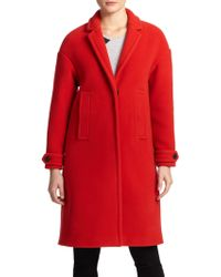 Burberry Brit Marstead Oversized Coat - Lyst