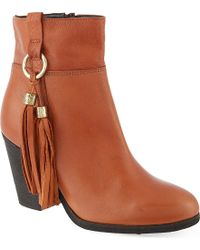 Carvela Kurt Geiger Stan Leather Ankle Boots - Lyst