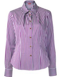 Vivienne Westwood Red Label Striped Shirt - Lyst