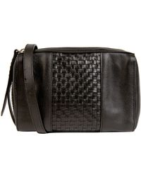 Cole Haan Brennan Leather Mini Crossbody Bag - Lyst