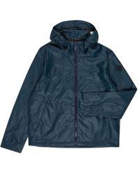 Paul Smith | Men's Teal Waterproof Hooded Jacket | Lyst