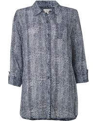Linea Weekend Wilderness Printed Shirt - Lyst