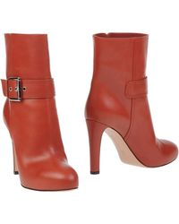Gianvito Rossi Ankle Boots - Lyst