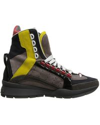 DSquared2 551 High Top Sneaker - Lyst