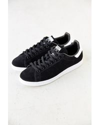 Adidas Stan Smith Suede Sneaker - Lyst
