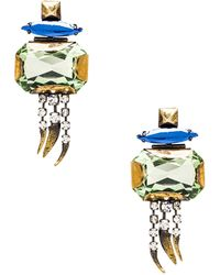 Iosselliani Multi Stone Earrings - Lyst